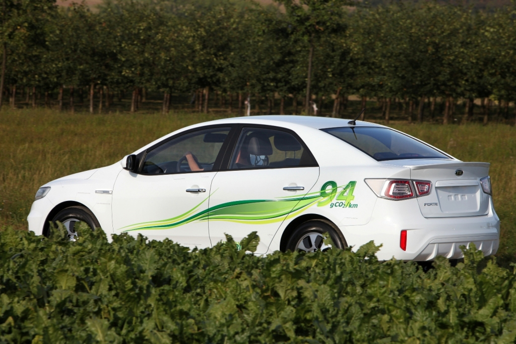 Kia Forte LPI Hybrid photo 12