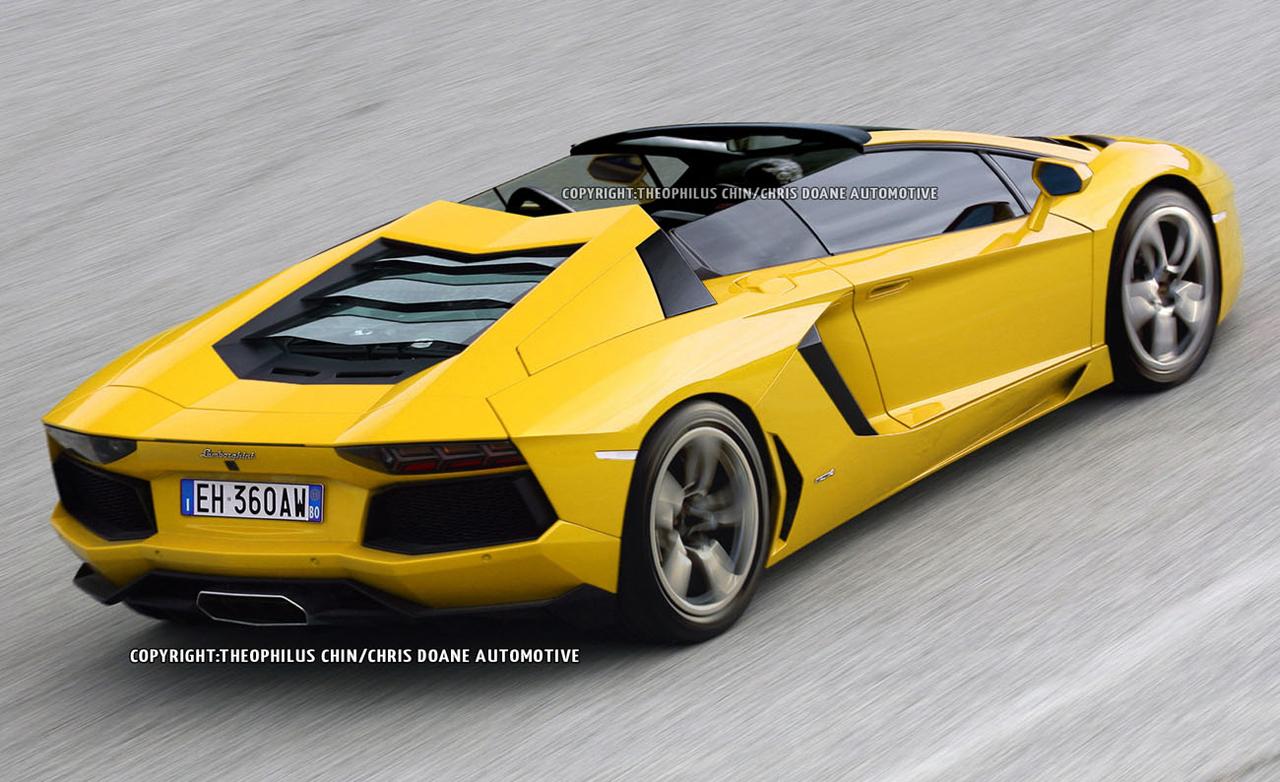 Lamborghini Aventador Roadster Technical Details History
