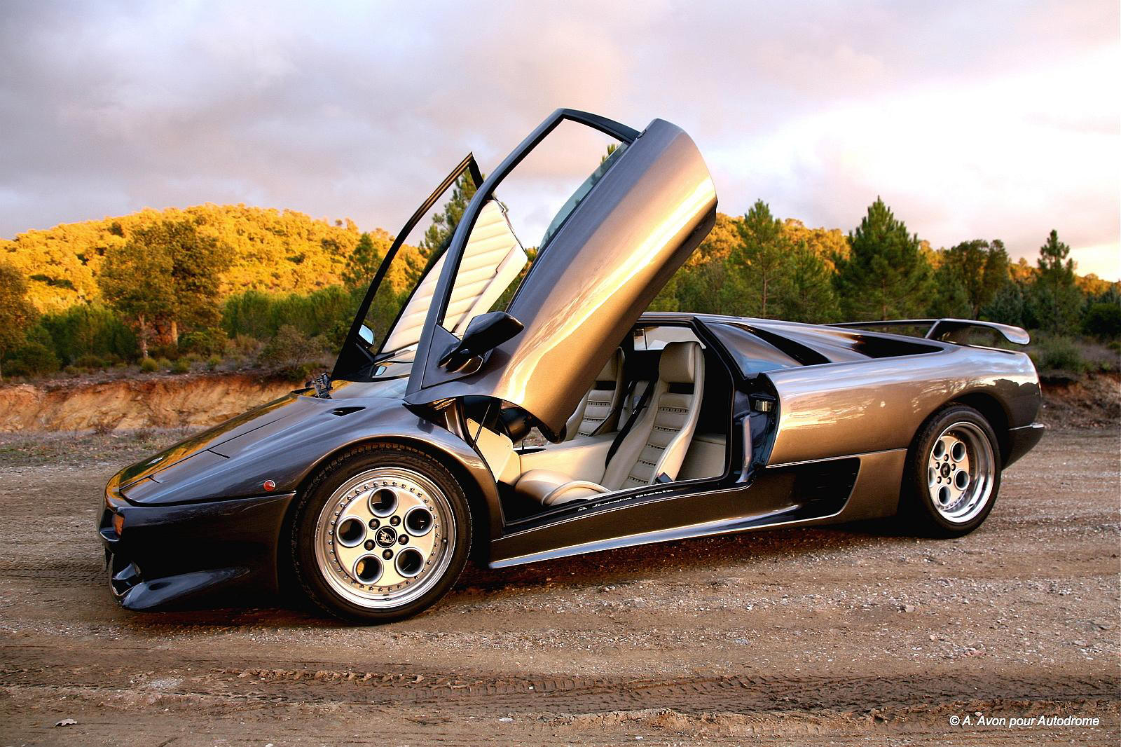 Lamborghini Diablo Vt Roadster Technical Details History Photos On Better Parts Ltd