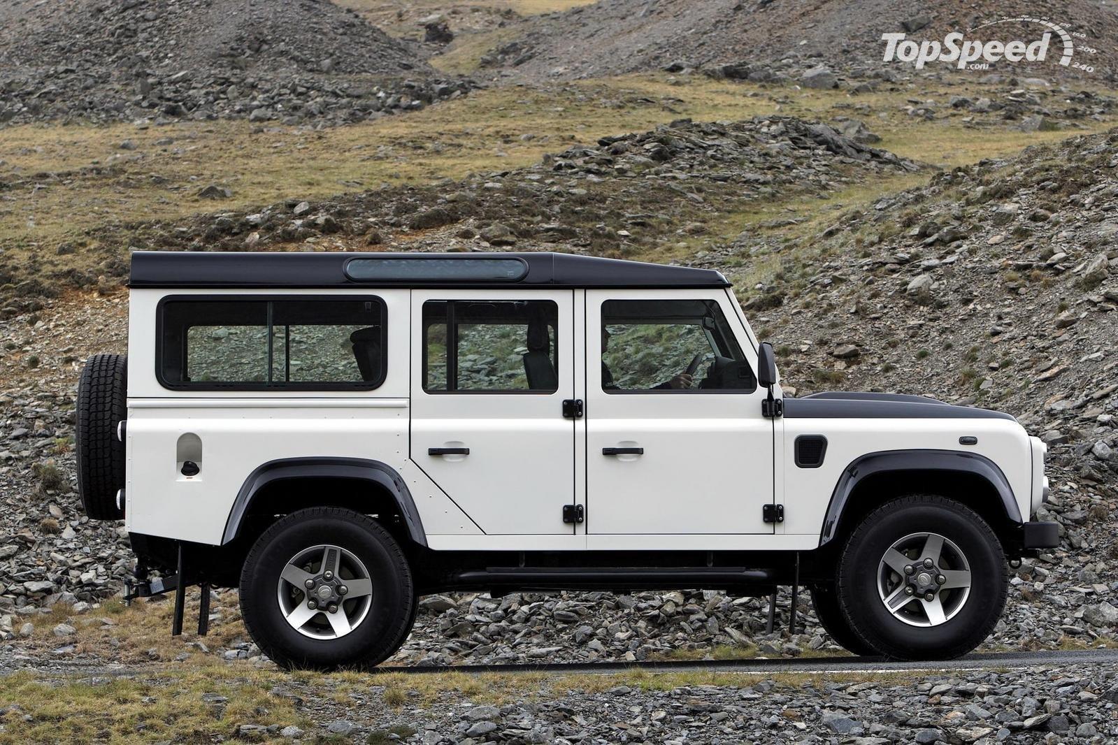 New 2018 Land Rover Defender >> Land-Rover Defender history, photos on Better Parts LTD