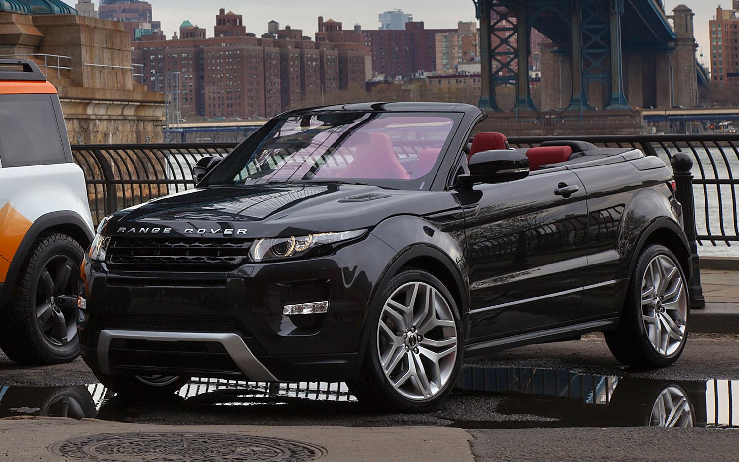 land rover range rover evoque cabrio image 7. Black Bedroom Furniture Sets. Home Design Ideas