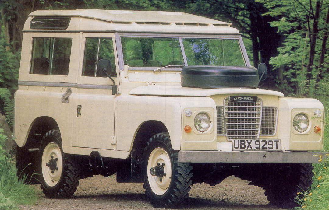 land rover series history photos on better parts ltd. Black Bedroom Furniture Sets. Home Design Ideas
