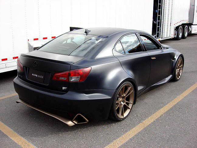 Lexus IS-F photo 02