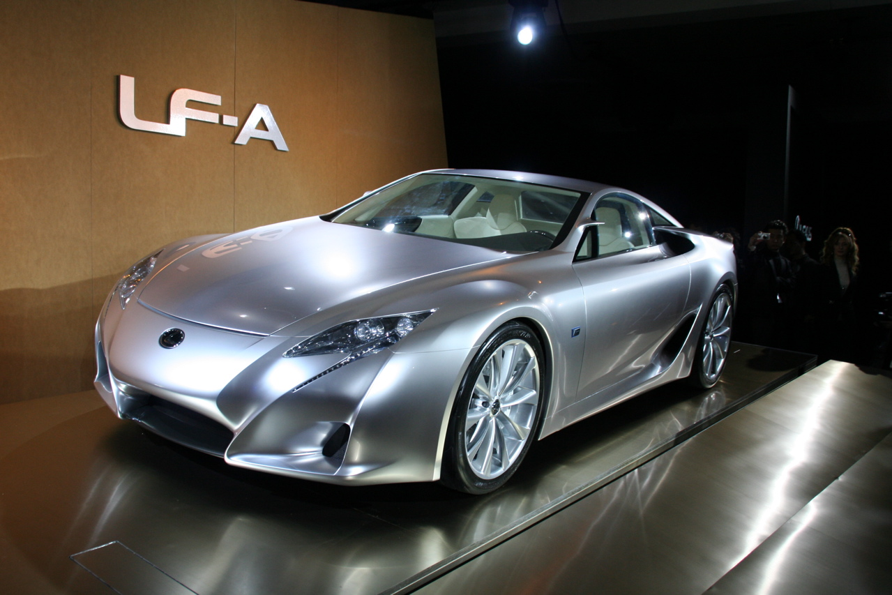 Lexus LF-A photo 04