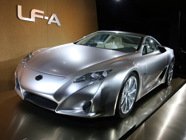 Lexus LF-A photo 05