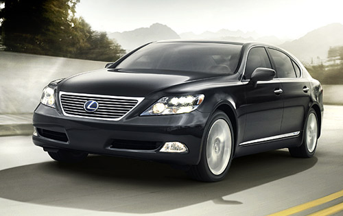 Lexus LS 600h photo 04