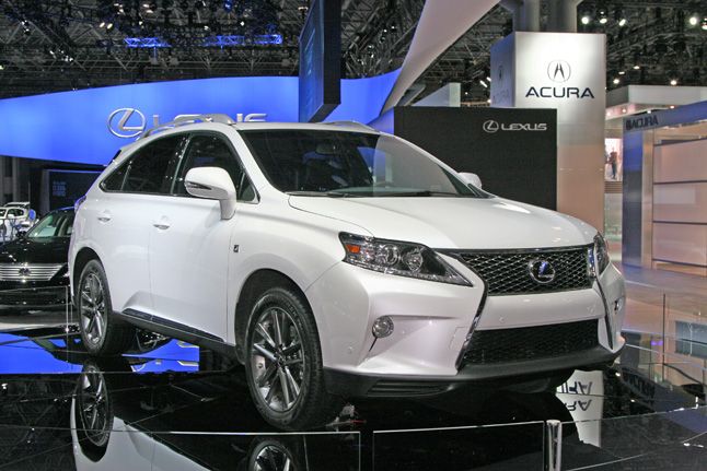 Lexus RX F Sport photo 02