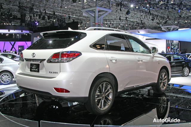 Lexus RX F Sport photo 11