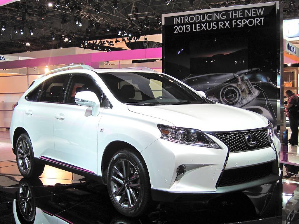 Lexus RX F Sport photo 13