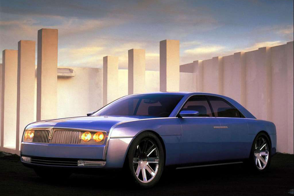 Lincoln Continental history photos on Better Parts LTD