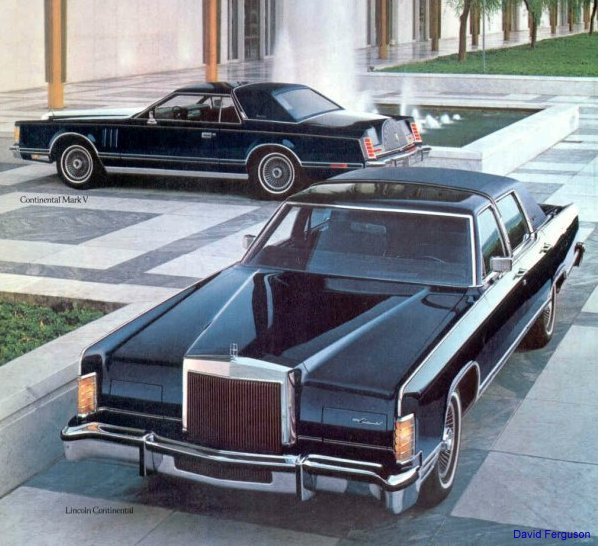 Lincoln Mark Series history photos on Better Parts LTD