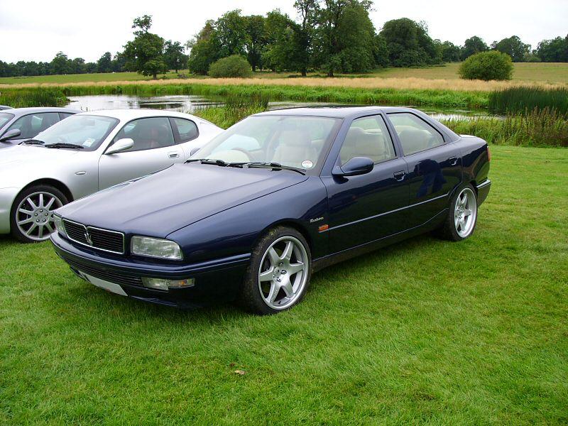 Maserati Quattoporte V8 history, photos on Better Parts LTD