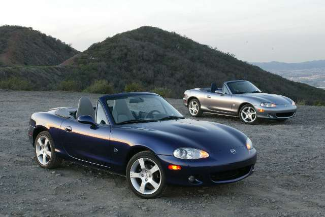 Mazda MX-5 Silver Blues image #1