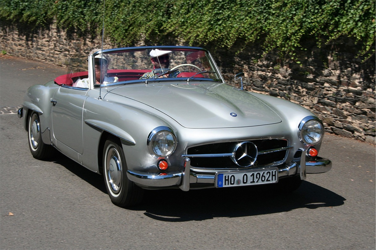 Mercedes benz 190 sl technical details history photos on for Mercedes benz sl500 parts