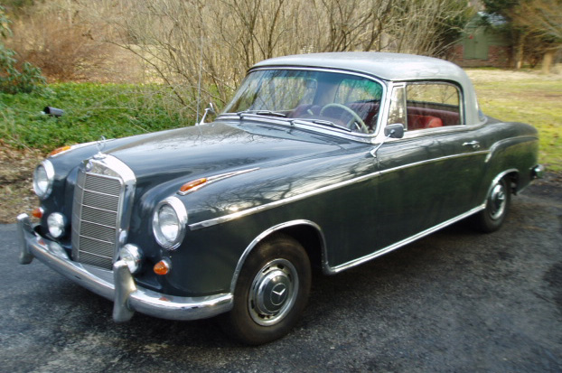 Mercedes benz 220 s coup photos 7 on better parts ltd for Mercedes benz 220 s