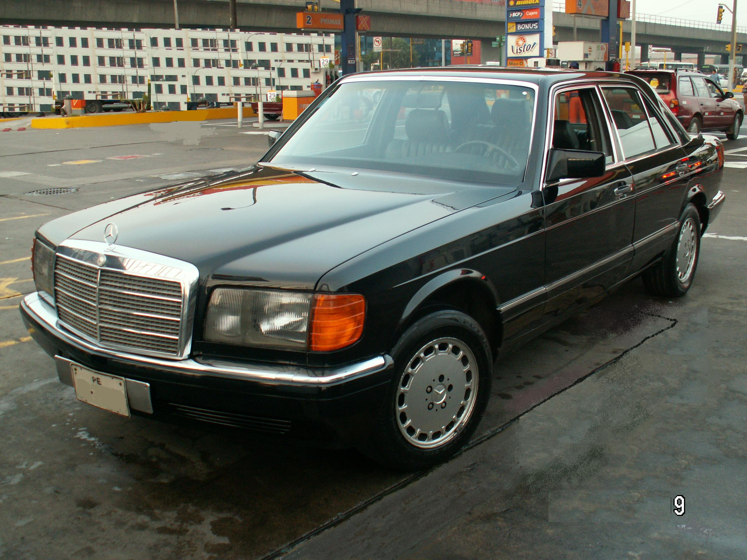 mercedes benz 300 se technical details history photos on
