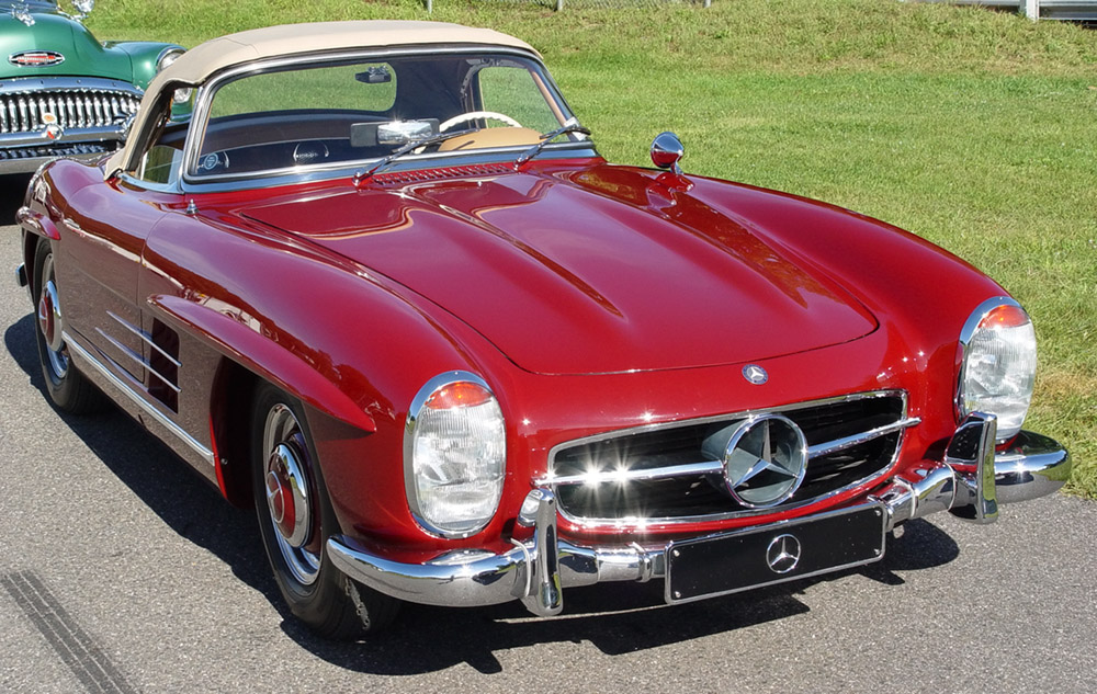 Mercedes benz 300 sl roadster technical details history for Mercedes benz racing parts