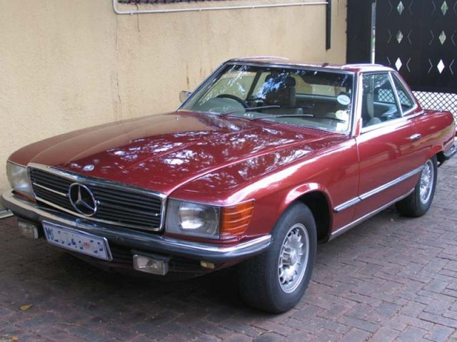 Mercedes-Benz 350 SL photo 02