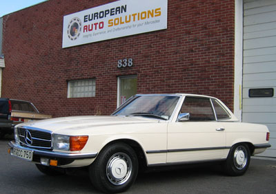 Mercedes-Benz 350 SL photo 07