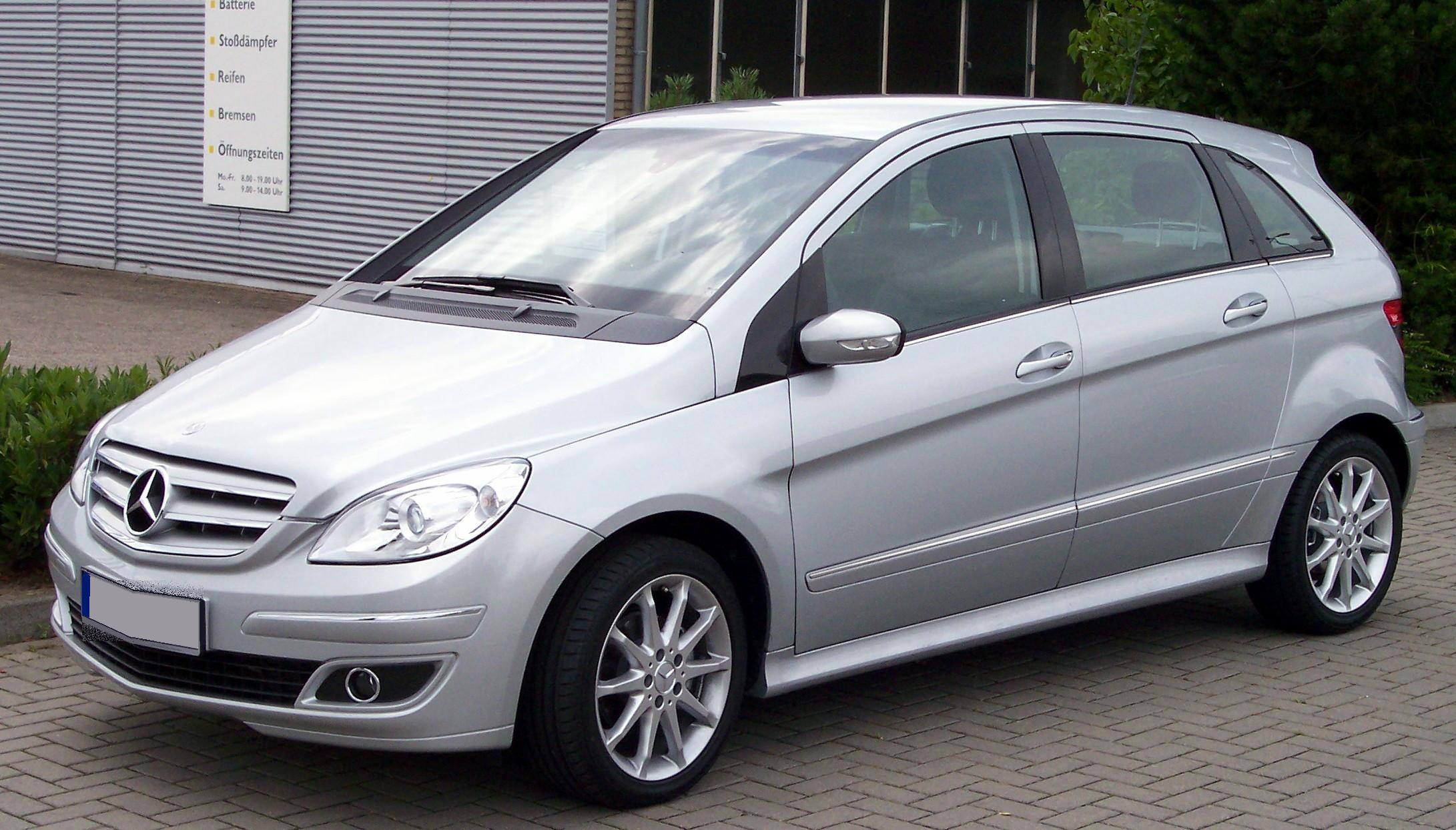 mercedes benz b 170 technical details history photos on better parts ltd. Cars Review. Best American Auto & Cars Review