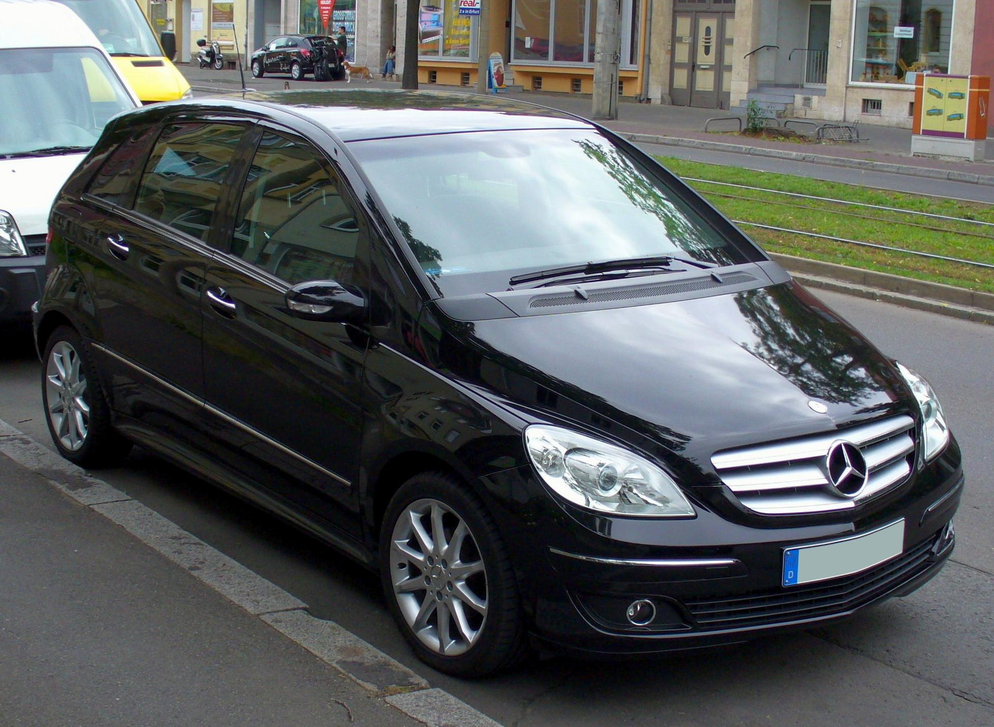 mercedes benz b klasse history photos on better parts ltd