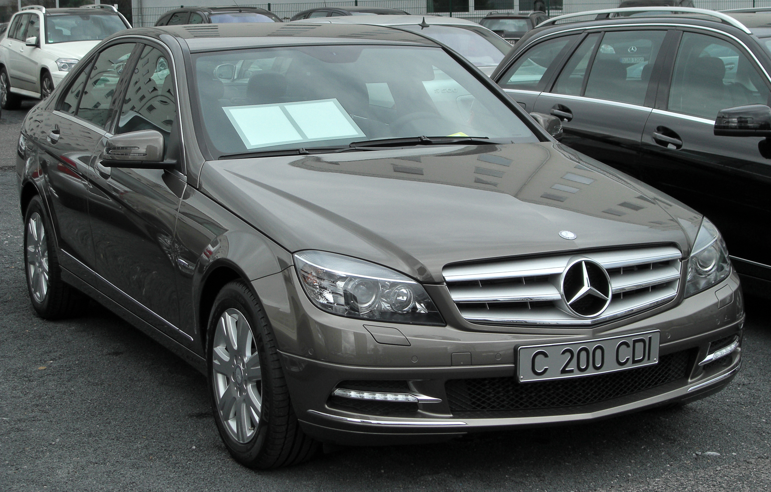 Mercedes benz c 200 cdi technical details history photos for Parts mercedes benz