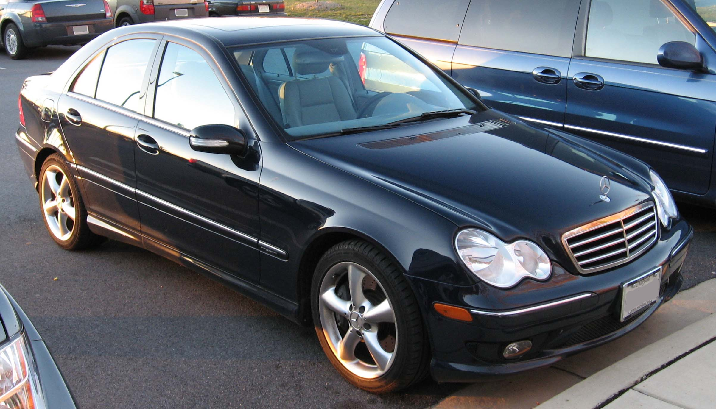 Mercedes benz c 230 technical details history photos on for Mercedes benz escondido parts