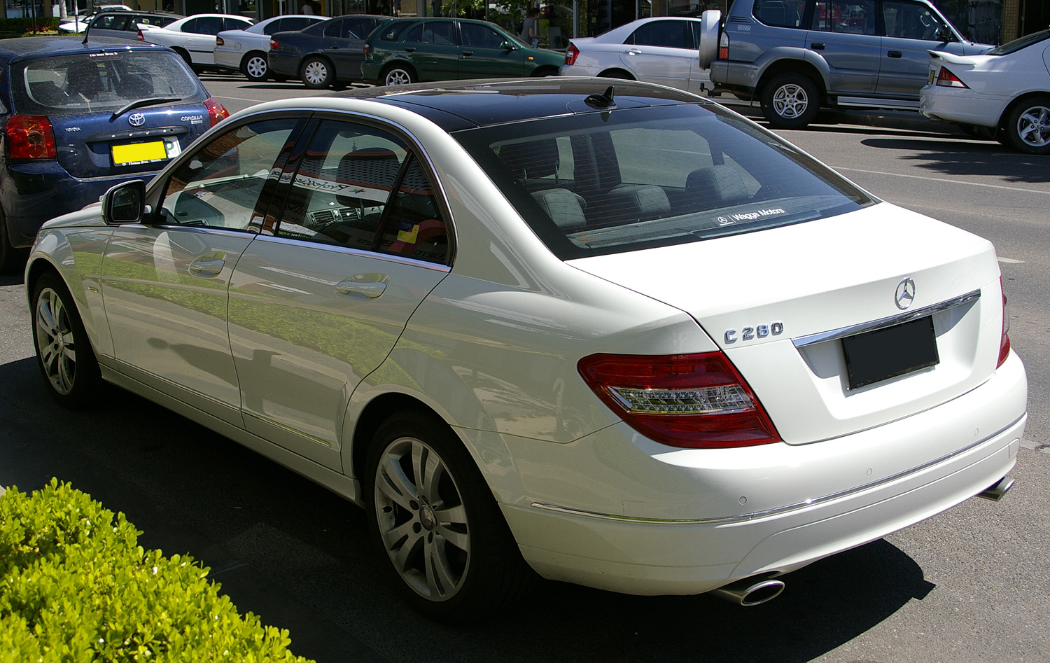 Mercedes benz c 280 technical details history photos on for Mercedes benz auto accessories