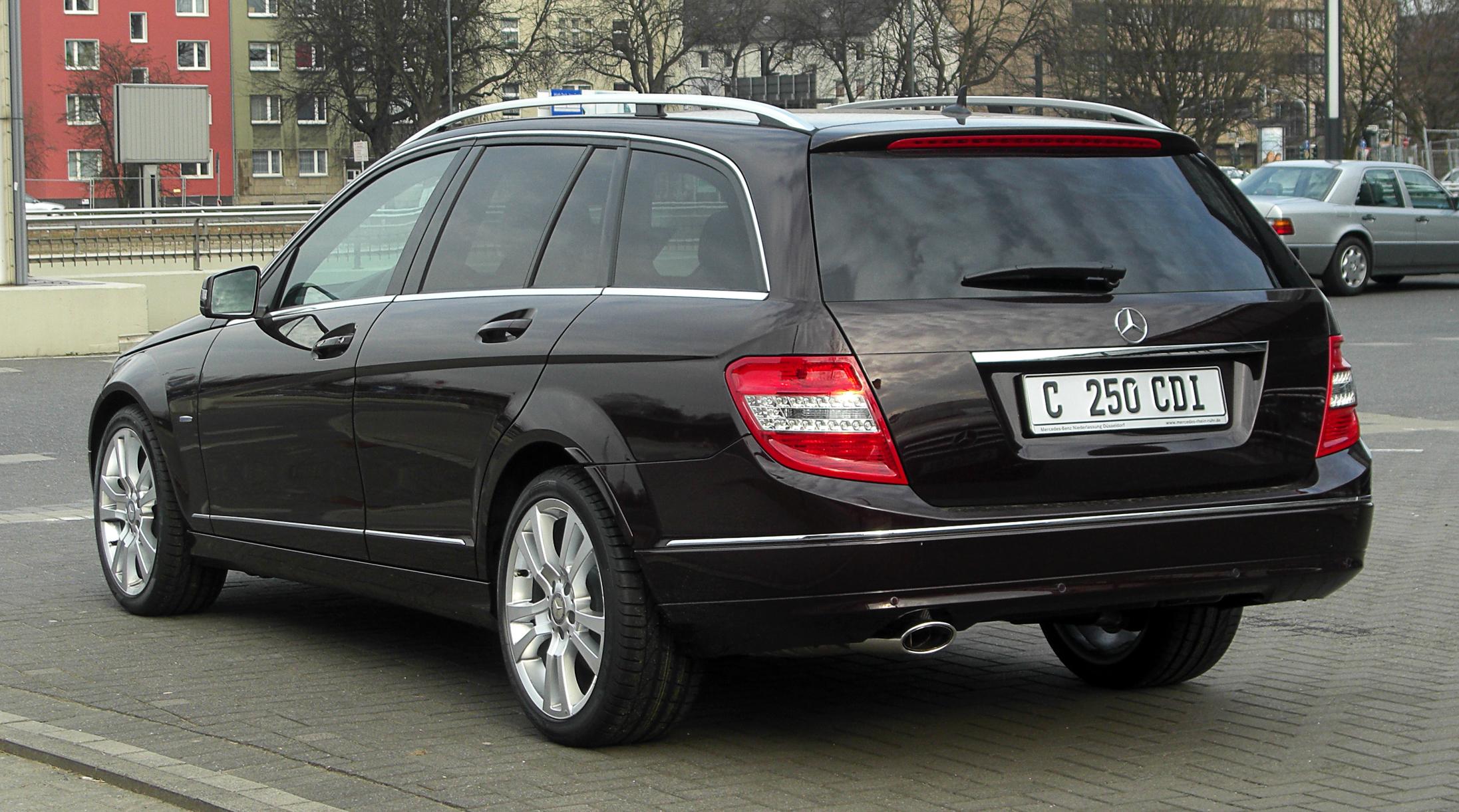 Mercedes benz c 320 cdi t modell technical details for Mercedes benz cdi