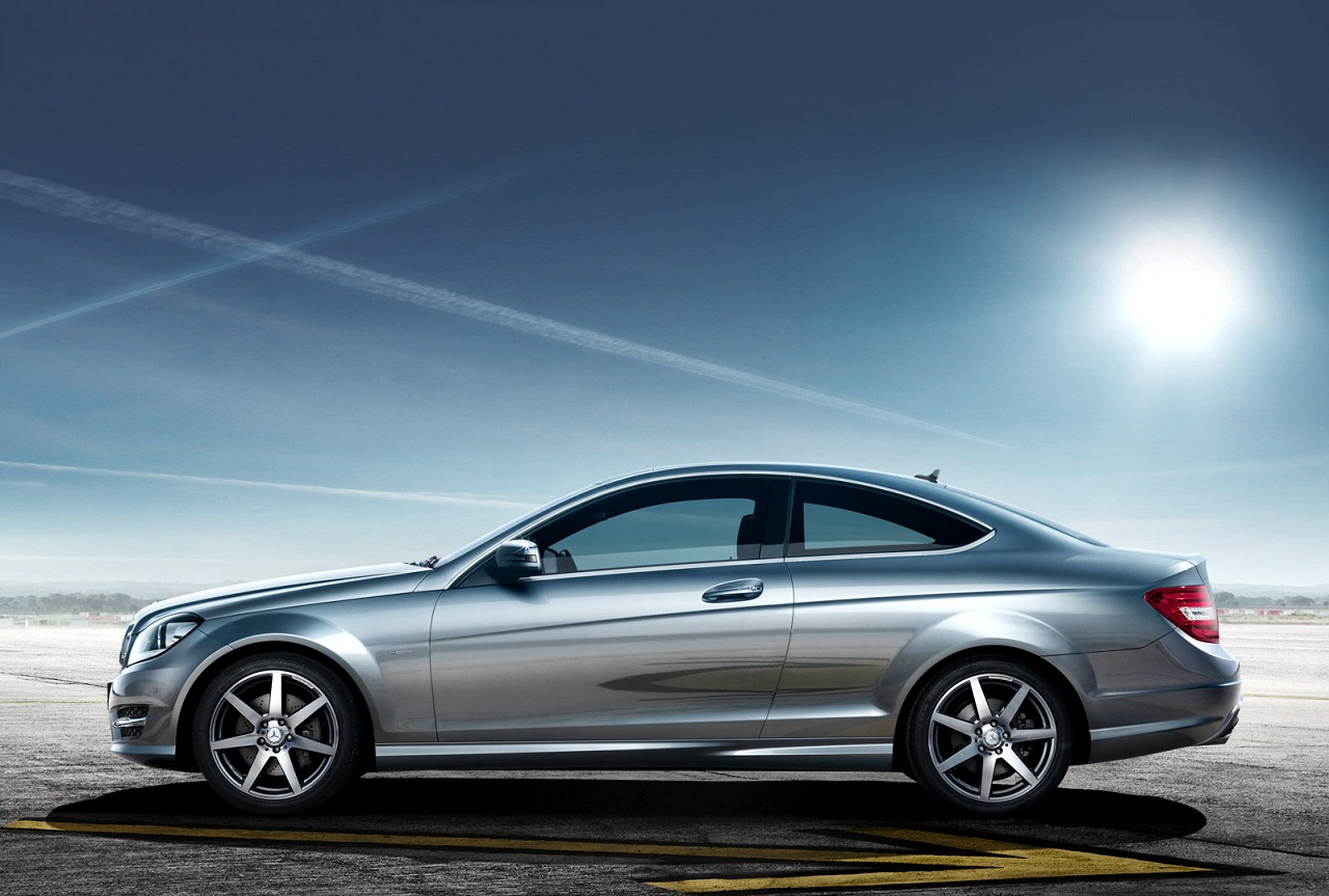Mercedes benz c coupe history photos on better parts ltd for Mercedes benz accessories ebay