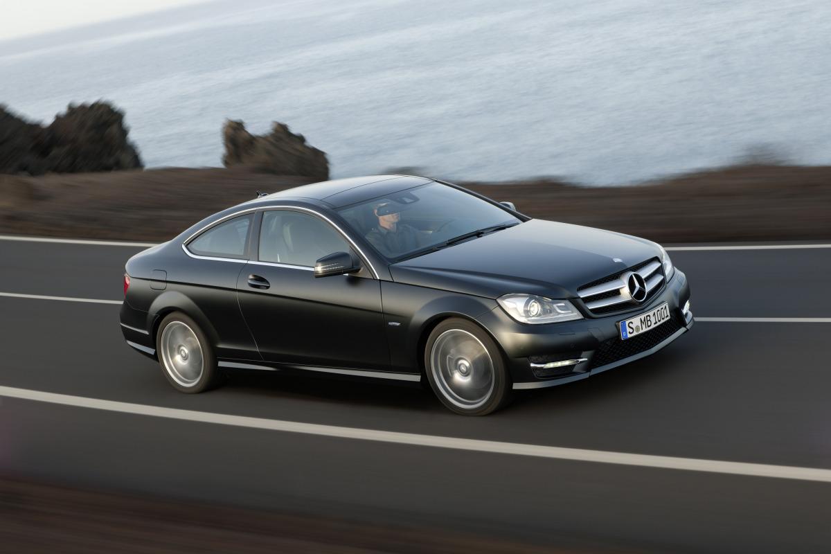 Mercedes benz c klasse coupe technical details history for Mercedes benz official parts