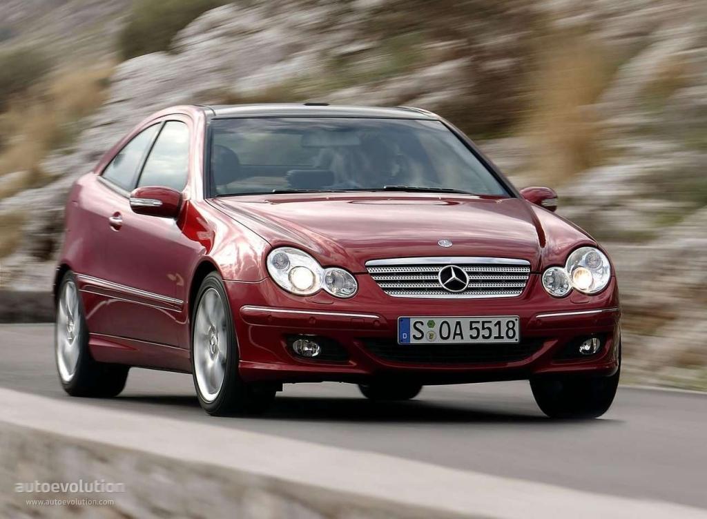 Mercedes benz c klasse sportcoup technical details for 2004 mercedes benz c320 parts