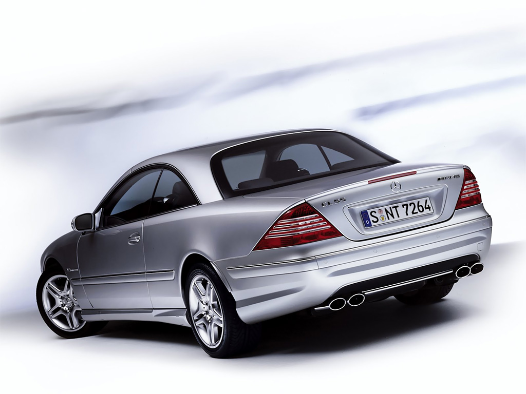 Mercedes-Benz CL 55 AMG photo 07