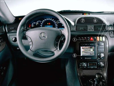 Mercedes-Benz CL 55 AMG photo 14