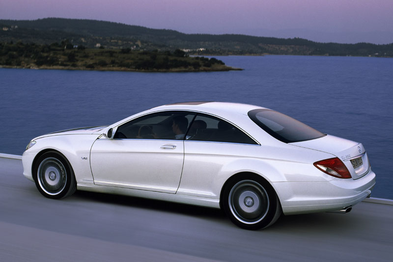 Mercedes Benz Cl 600 Technical Details History Photos On
