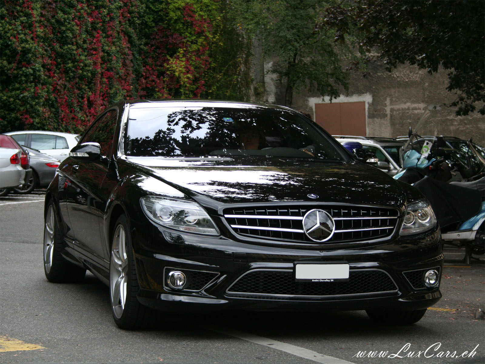 MercedesBenz CL 63 AMG technical details history photos on
