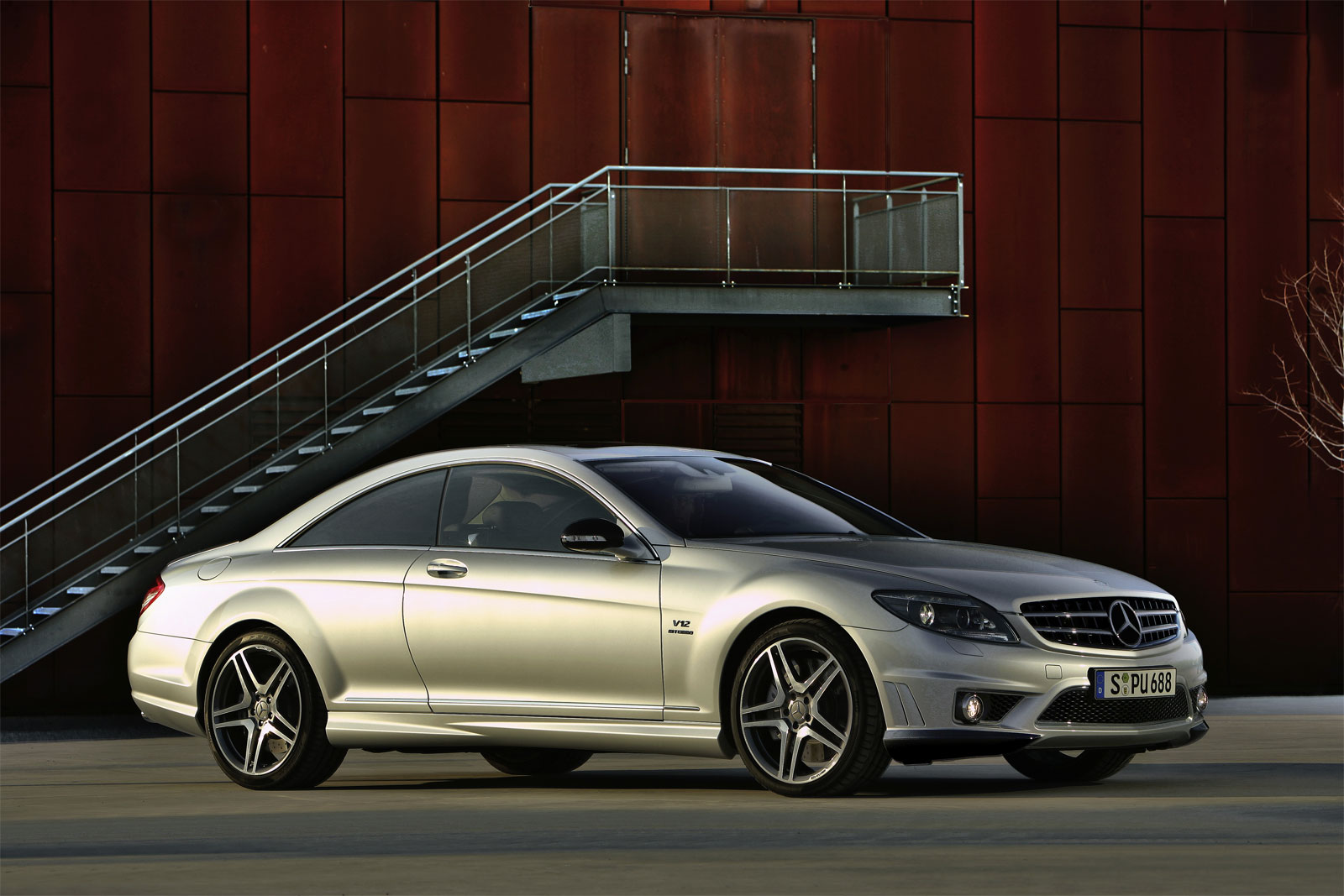 mercedes benz cl 65 amg technical details history photos