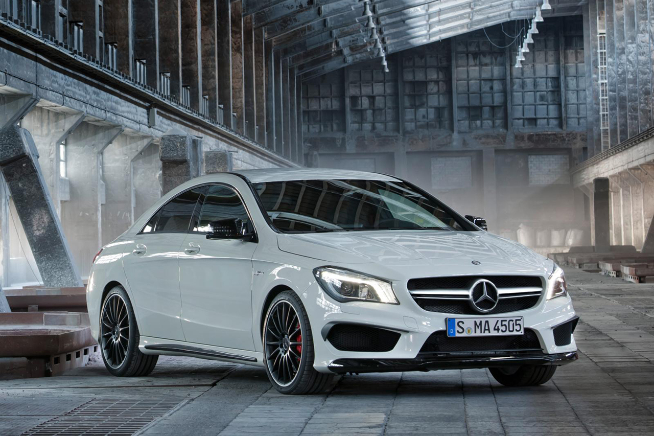 Mercedes benz cla 45 amg technical details history for Mercedes benz amg parts
