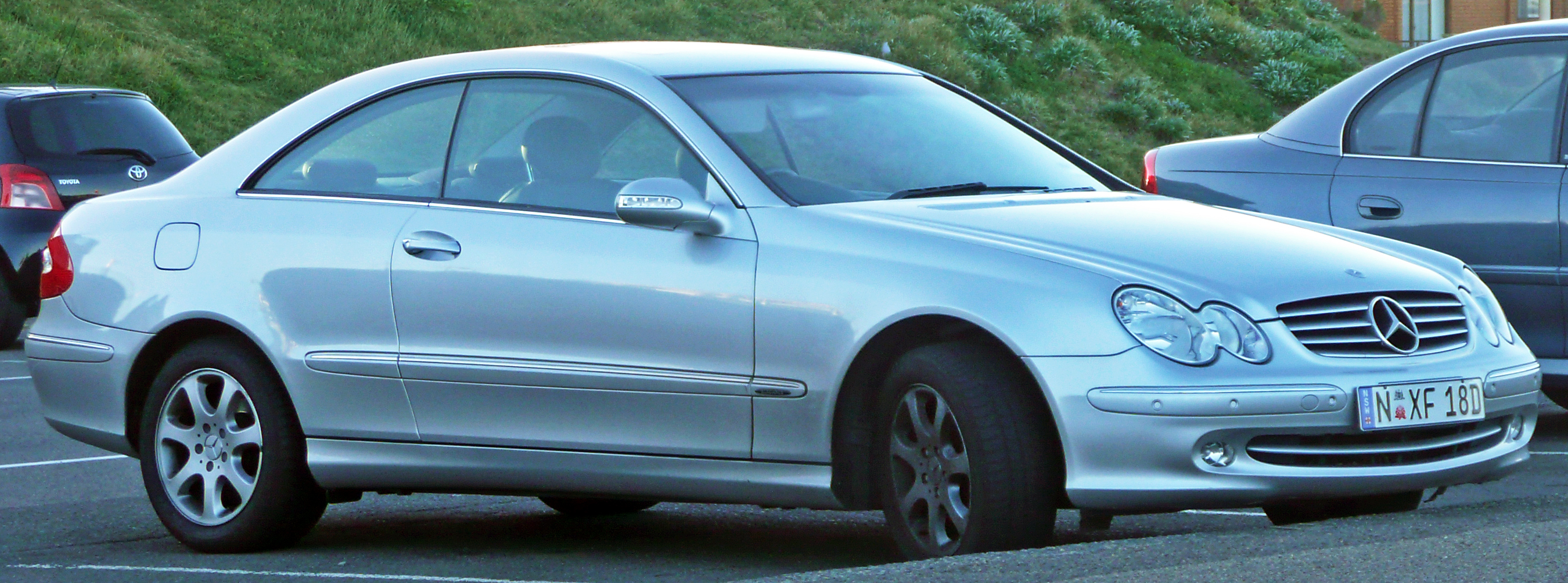 Mercedes-Benz CLK 240 photo 01