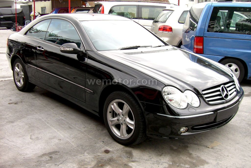 Mercedes-Benz CLK 240 photo 07