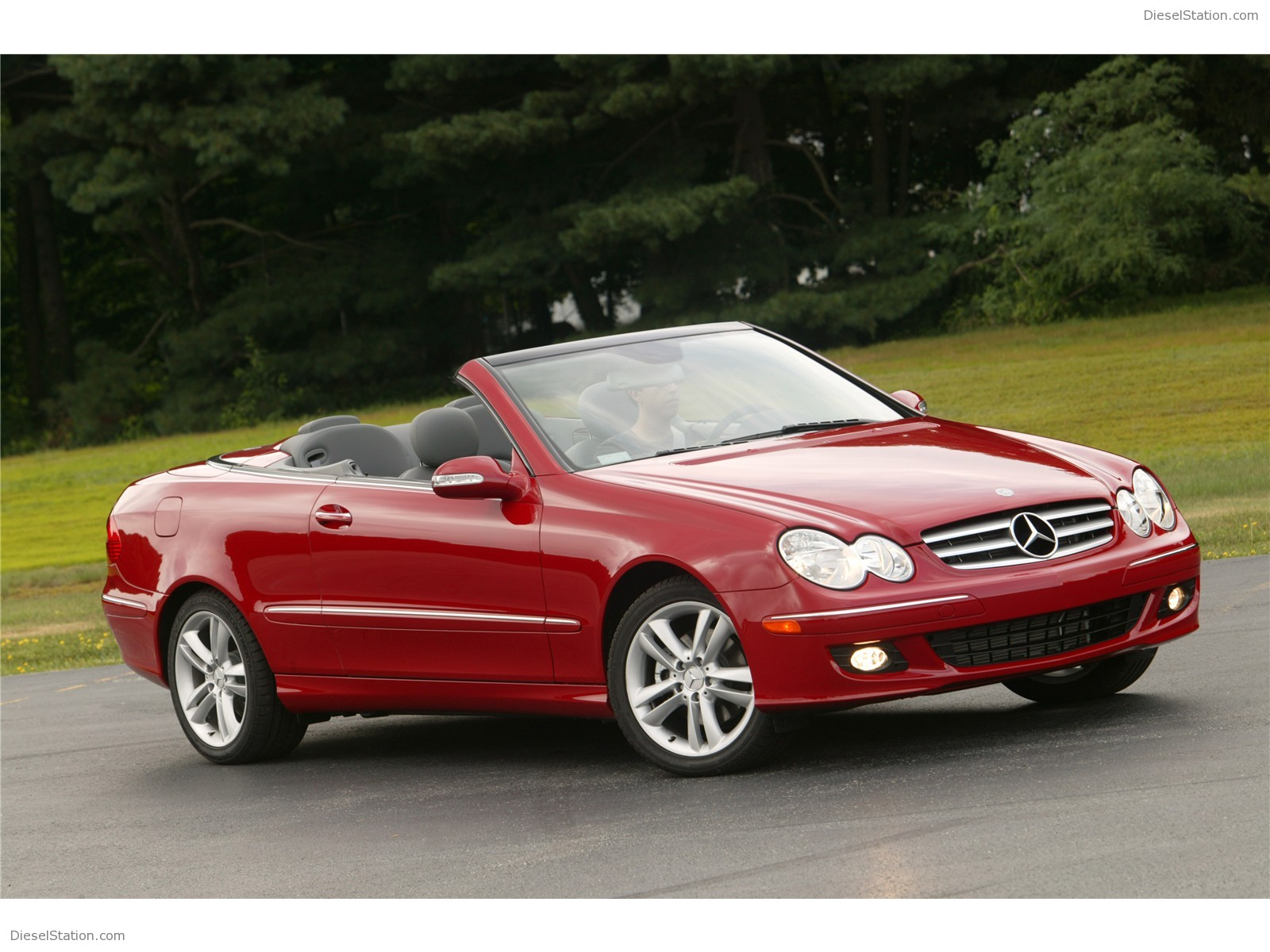 mercedes benz clk 350 technical details history photos