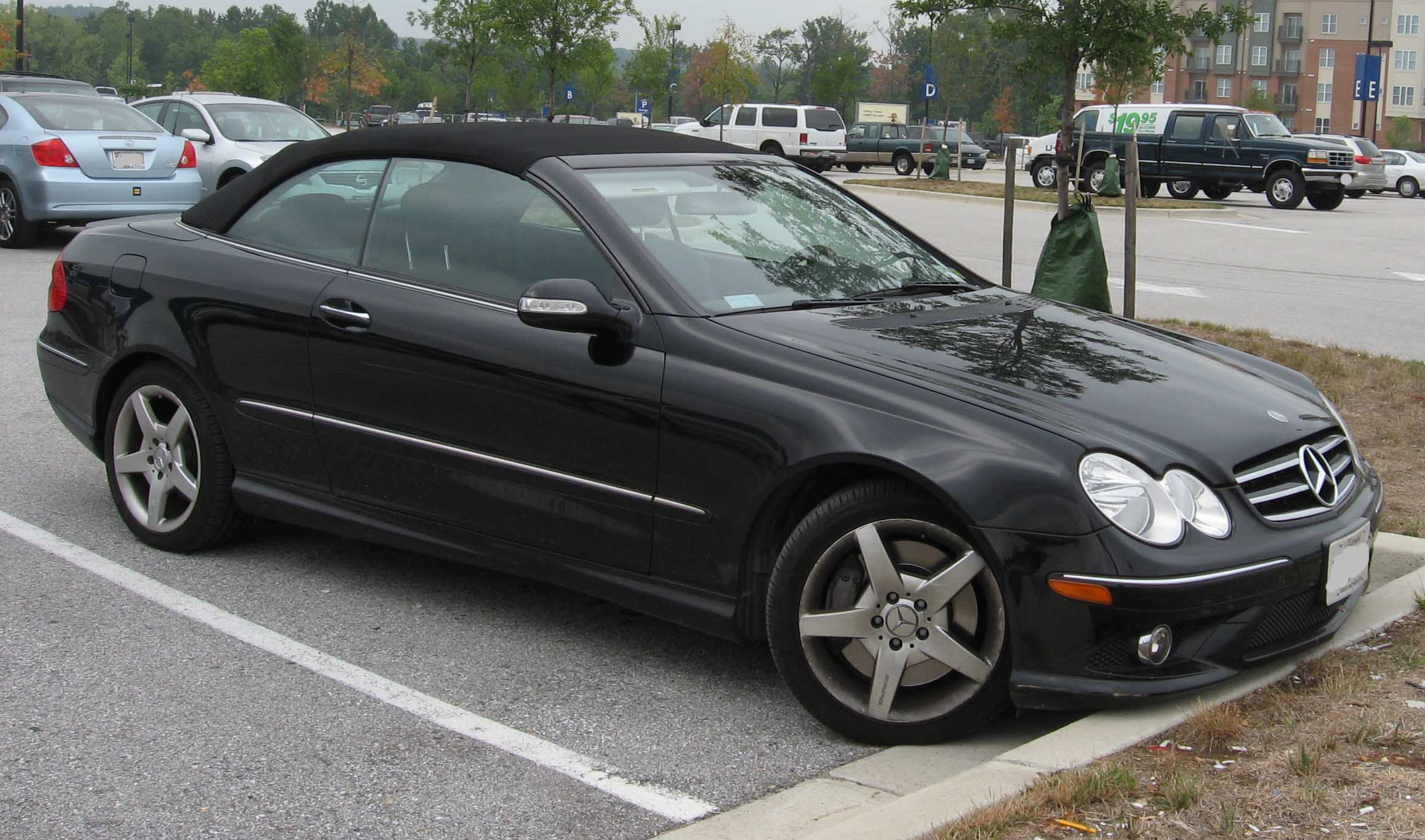 Image gallery mercedes clk 500 for Aftermarket parts mercedes benz