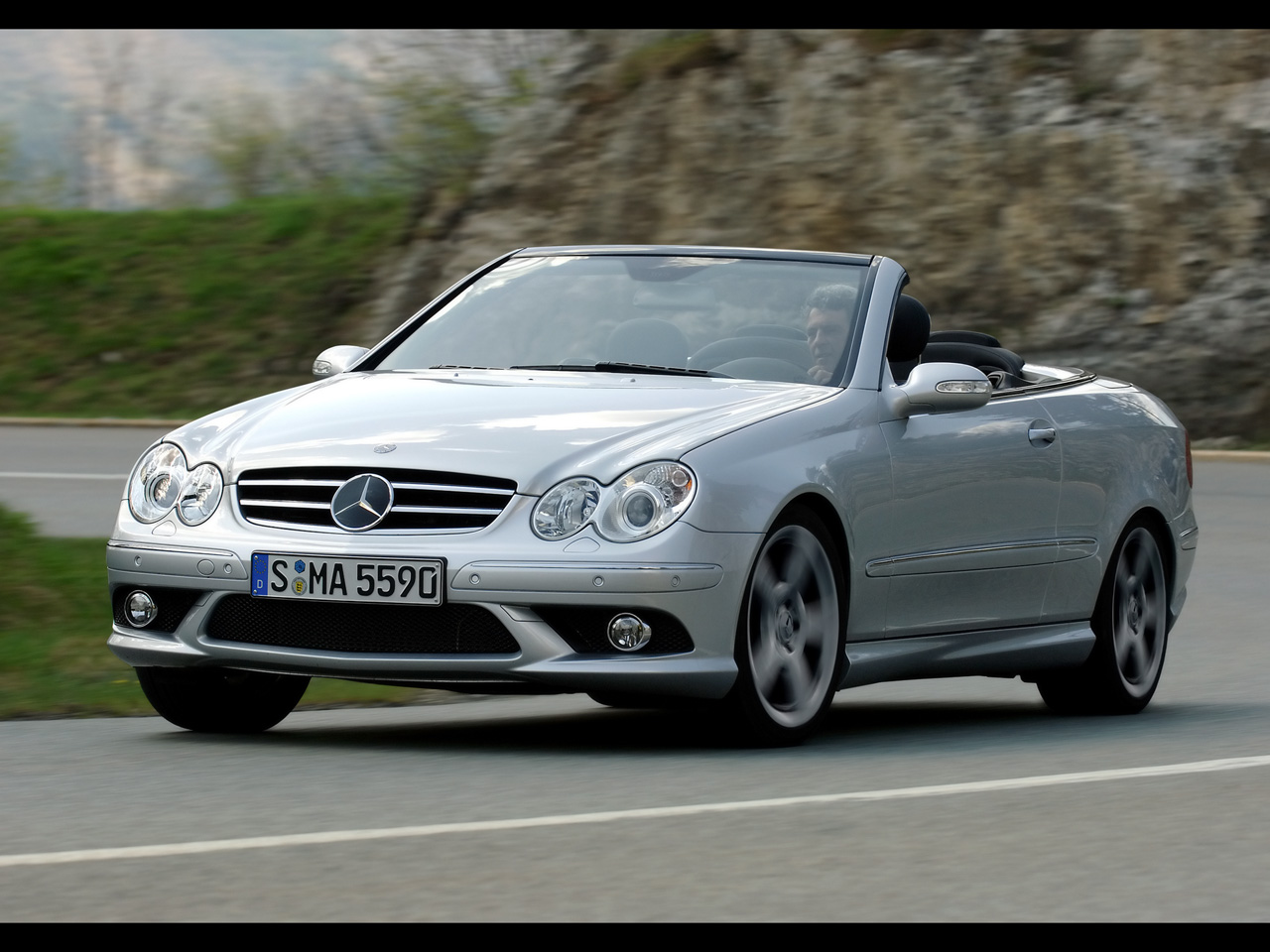 Mercedes-Benz CLK 500 photo 02