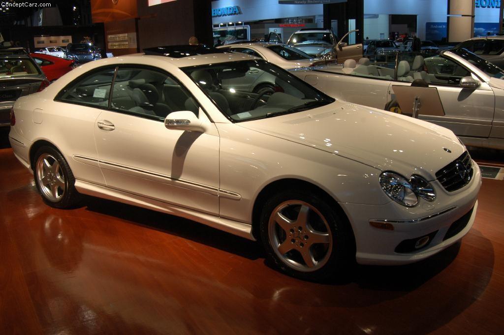 mercedes-benz clk 500 technical details, history, photos on better