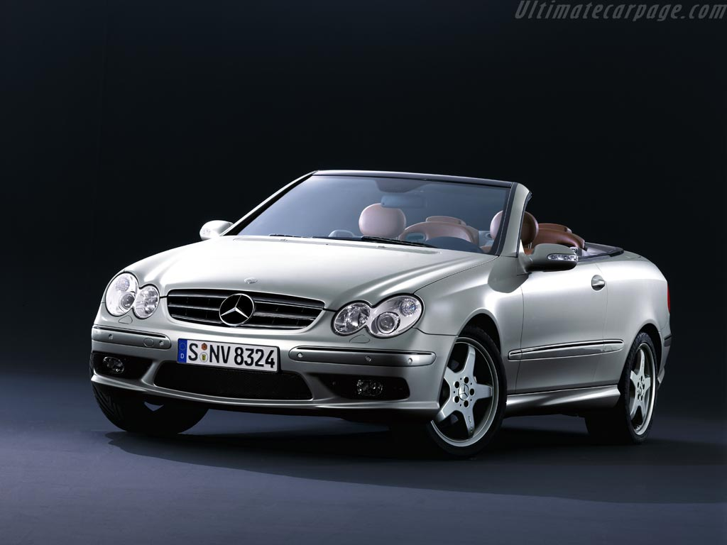 Mercedes-Benz CLK 500 photo 09