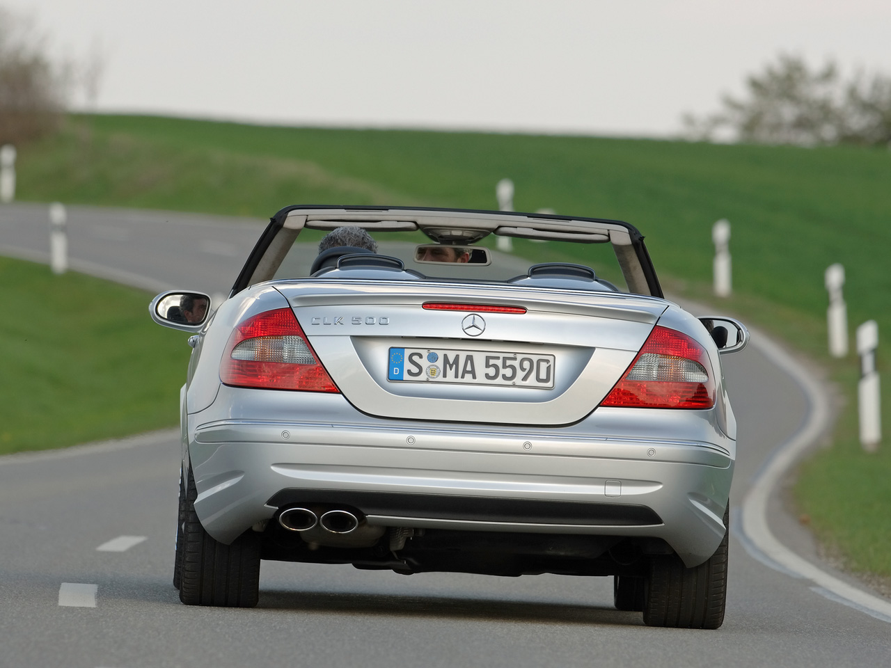 Mercedes-Benz CLK 500 photo 10