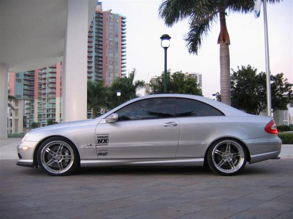 Mercedes-Benz CLK 55 AMG photo 01