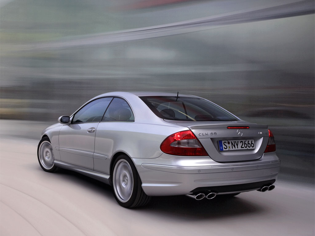 Mercedes-Benz CLK 55 AMG photo 02