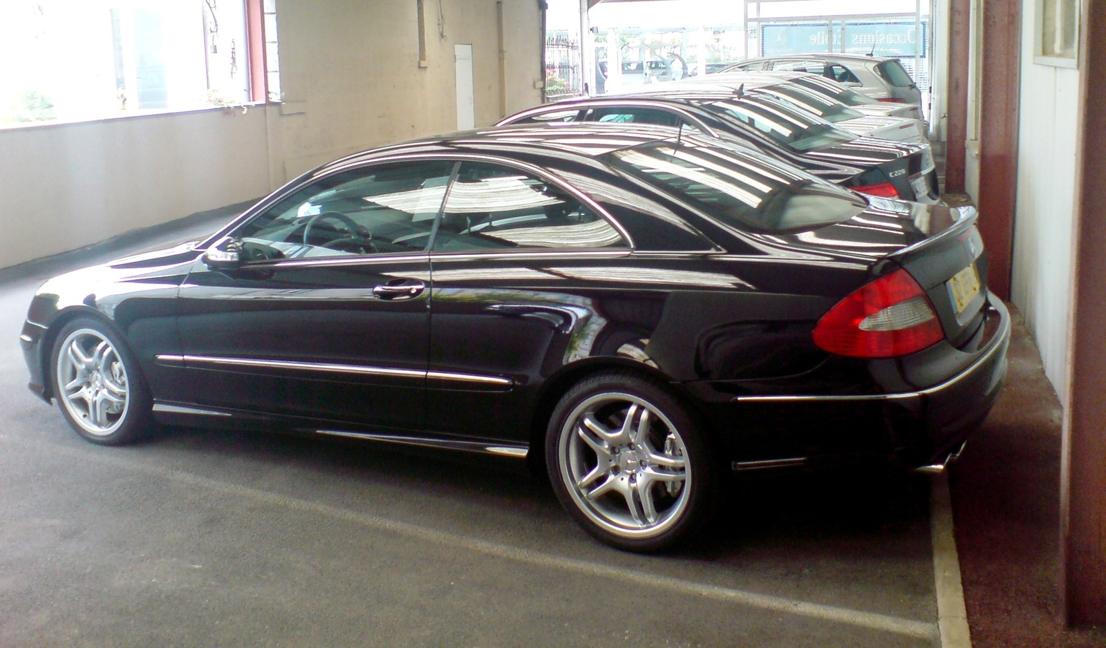 Mercedes-Benz CLK 55 AMG photo 05