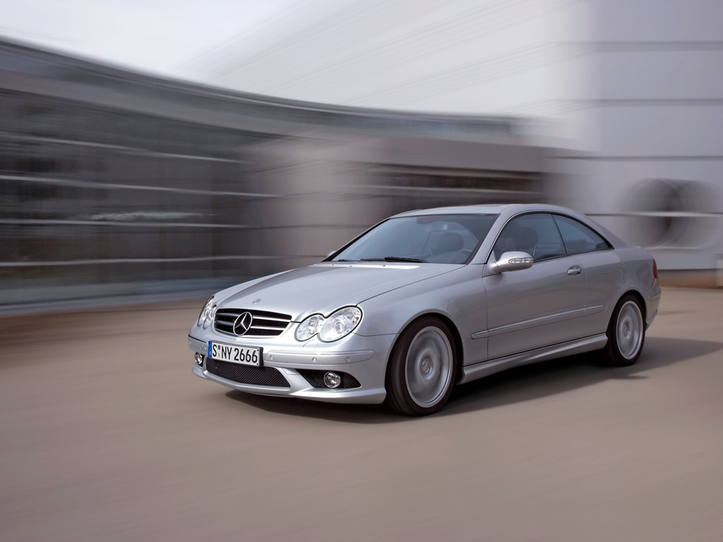 Mercedes-Benz CLK 55 AMG photo 06